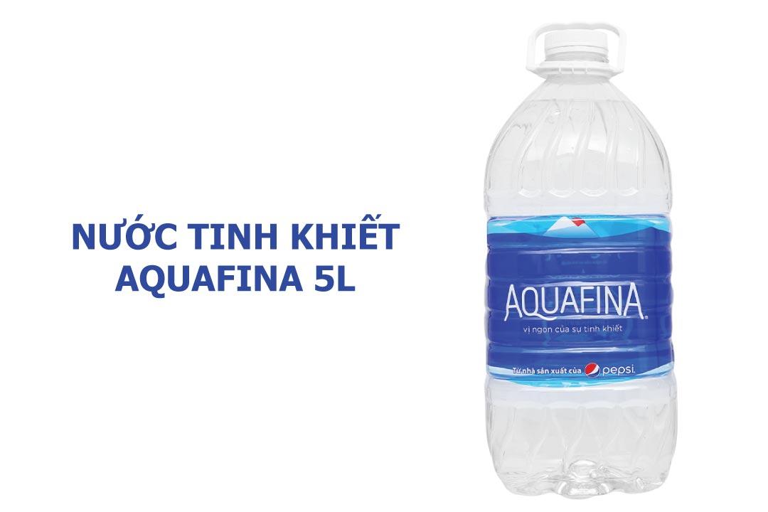 chai nước Aquafina 5L