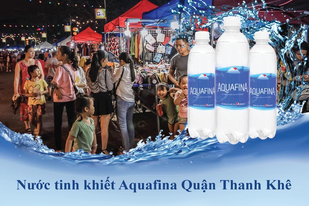 Đại lý giao nước Aquafina tại Thanh Khê Đà Nẵng