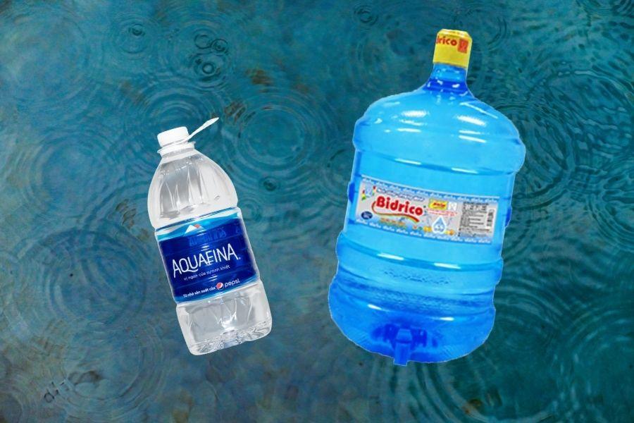 Aquafina và Bidrico