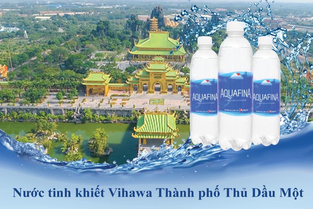 Đại lý nước Aquafina tại Thành phố Thủ Dầu Một