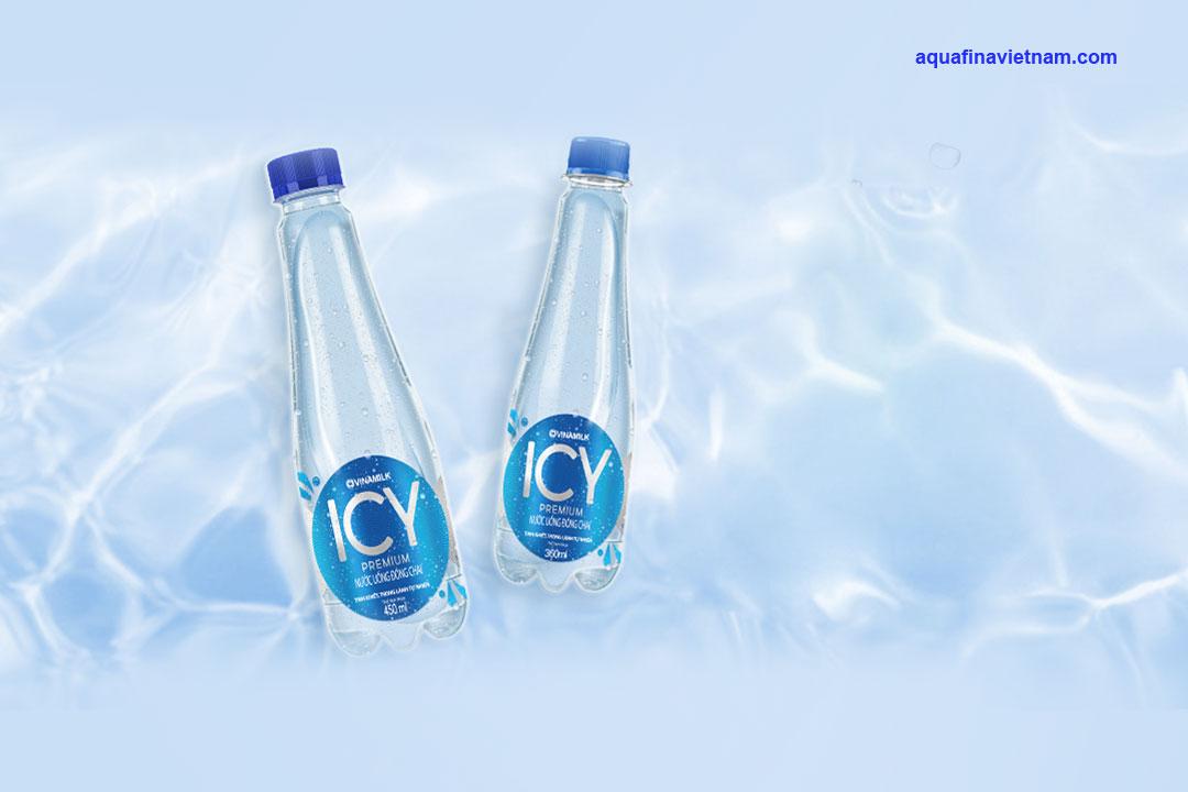 Nước tinh khiết Aquafina và Icy khác biệt ra sao?